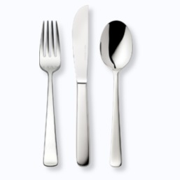 Robbe & Berking cutlery in stainless